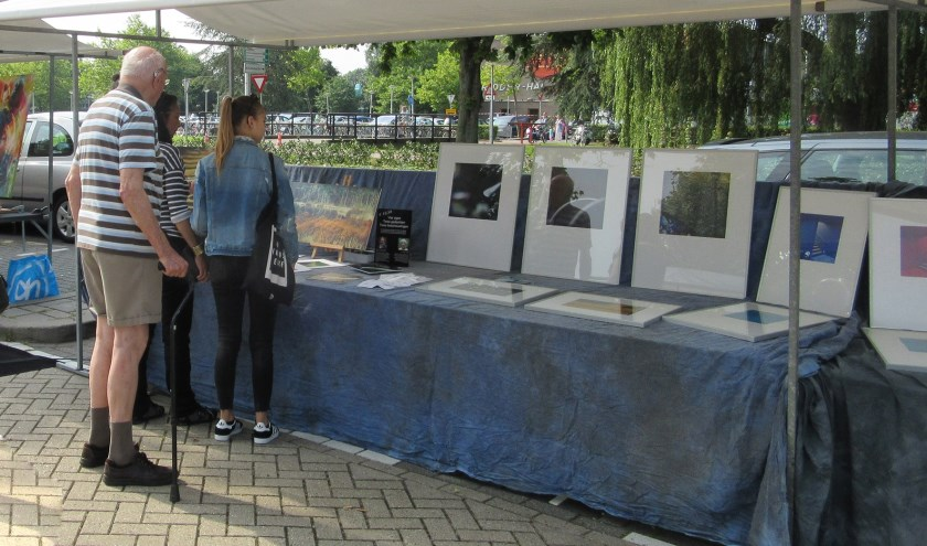 Kunstmarkt op de Zomerparkdag