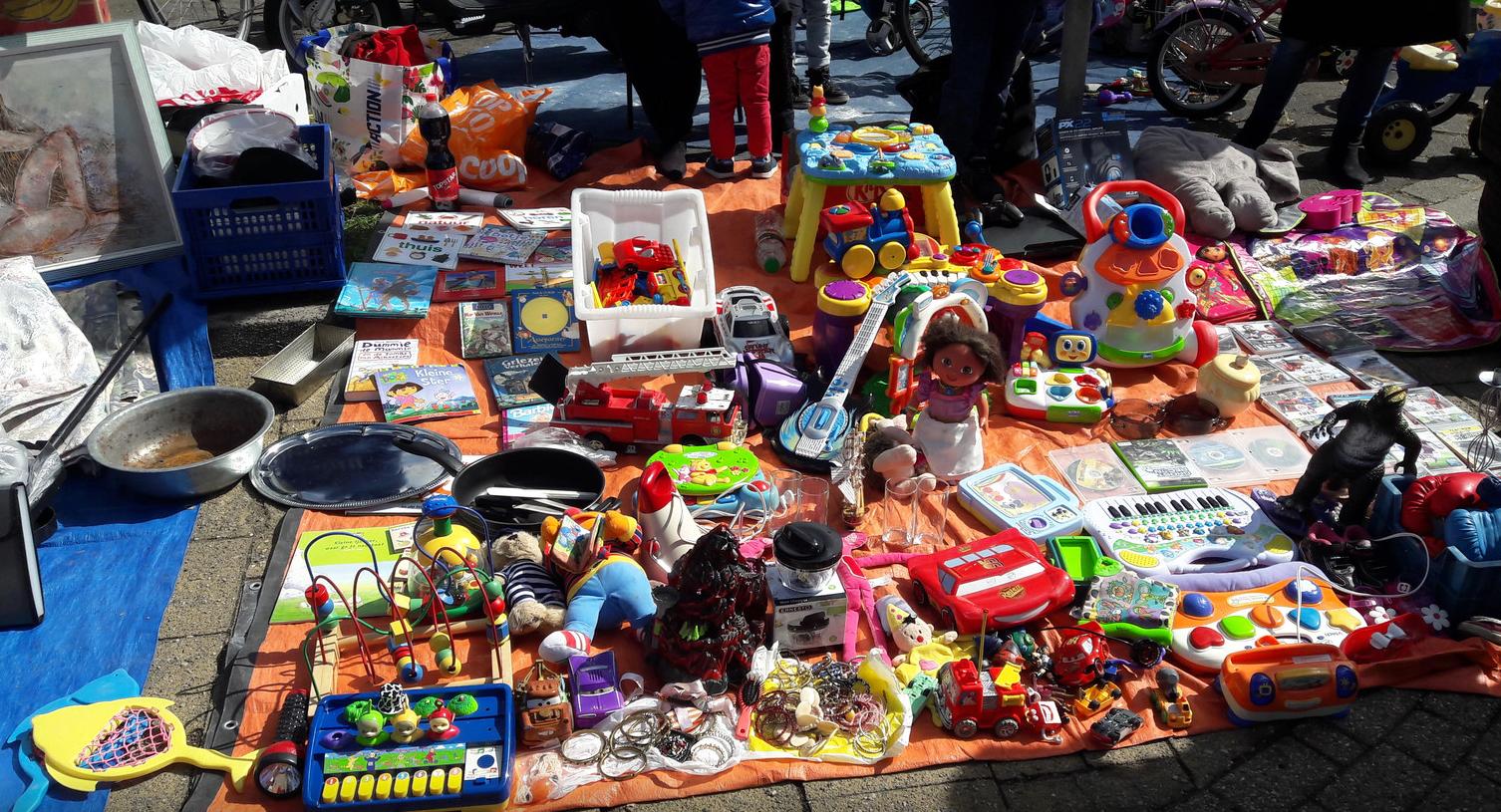 Vrijmarkt tijdens de Zomerparkdag!